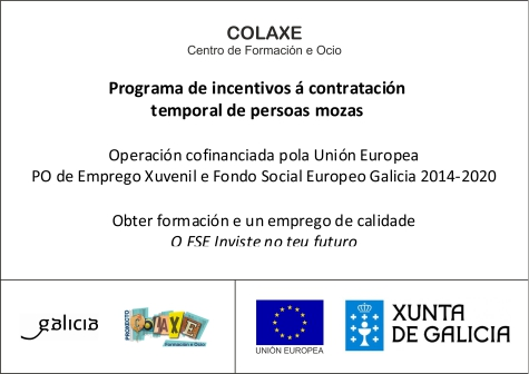 Cartel Informativo Subvención Desempleados Xunta Iria